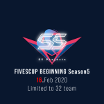 FIVESCUP BEGINNING Season5 : 結果